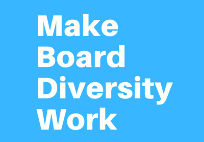 Commit to Making Board Diversity Work